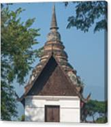 Wat Jed Yod Phra Ubosot Dthcm0967 Canvas Print