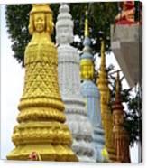 Wat Krom 31 Canvas Print