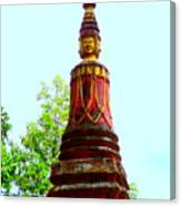 Wat Krom 32 Canvas Print