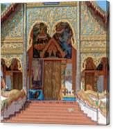 Wat Mae Faek Luang Phra Wihan Entrance Dthcm1876 Canvas Print