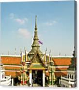 Wat Po Bangkok Thailand 13 Canvas Print