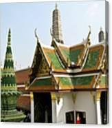 Wat Po Bangkok Thailand 14 Canvas Print