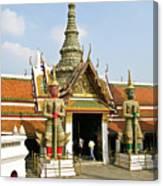 Wat Po Bangkok Thailand 16 Canvas Print