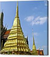 Wat Po Bangkok Thailand 18 Canvas Print