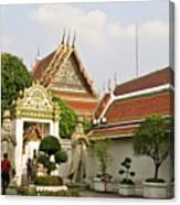 Wat Po Bangkok Thailand 35 Canvas Print