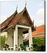 Wat Po Bangkok Thailand 39 Canvas Print
