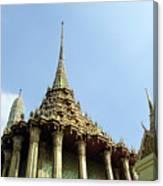 Wat Po Bangkok Thailand 8 Canvas Print