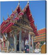 Wat Prachum Khongkha Phra Wihan Dthcb0174 Canvas Print