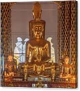 Wat Suan Dok Wihan Luang Buddha Images Dthcm0952 Canvas Print