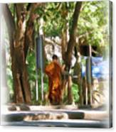 Wat Umong 2 Canvas Print