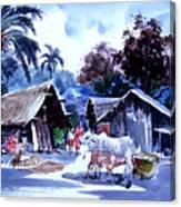 Watar Color Village Canvas Print