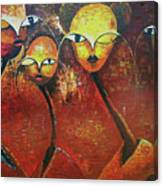 Watchers  Canvas Print