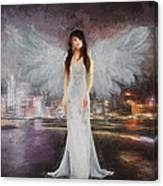 Watching Over Canvas Print
