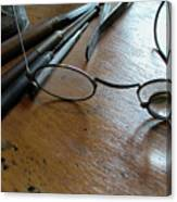 Watchmakers Glasses Canvas Print
