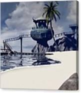 Watchtower Beach Canvas Print