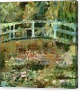 Waterlily Pond Canvas Print