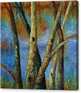 Water - Right Part Of  Triptych. Canvas Print