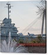 Water And Metal Canvas Print