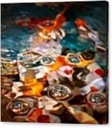 Water Art Canvas Print