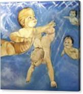 Water Babies Canvas Print