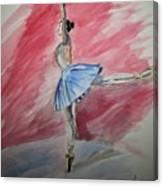 Water Ballerina Canvas Print