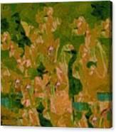 Water Bird Tapestry Canvas Print