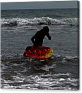 Water Boarding Canvas Print