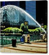 Water Canon In Color Canvas Print