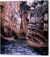 Water Caves - Italy Canvas Print