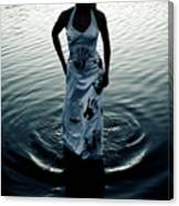 Water Dress Canvas Print