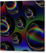 Water Droplets 5 Canvas Print