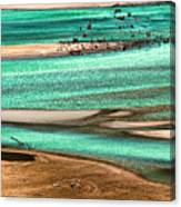 Water Edge 3 Canvas Print