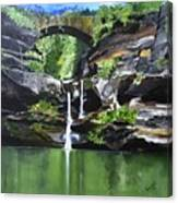 Water Fall Canvas Print
