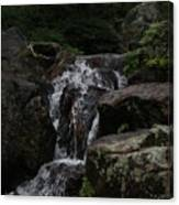 Water Fall Stilled Canvas Print