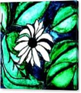 Water Fantasy Flower Canvas Print