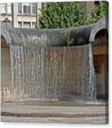 Water Feature - Derby Canvas Print