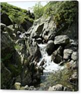 Water Flowing 4 Canvas Print