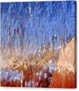 Water Fountain Abstract #63 Canvas Print