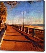 Water Front Park  Canvas Print