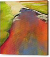 Water Garden Landscape 7 Canvas Print
