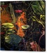 Water Garden Series A Canvas Print