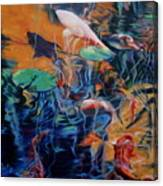 Water Garden Series B Canvas Print