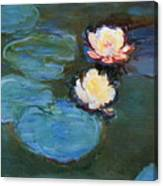 Water Lilies 1899 Canvas Print