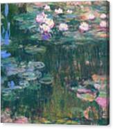 Water Lilies 1917 4 Canvas Print