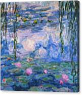 Water Lilies 1919 1 Canvas Print