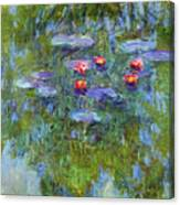 Water Lilies 1919 3 Canvas Print