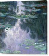 Water Lilies, Nympheas, 1907 Canvas Print