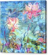 Water Lotus Canvas Print