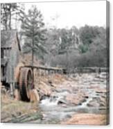 Old Mill Near Atlanta, Ga. Canvas Print