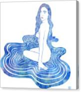 Water Nymph Cii Canvas Print